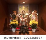 """three statue of """"the sanxing""""   ... 