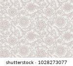 seamless emboss floral pattern | Shutterstock . vector #1028273077