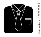 professional suit icon | Shutterstock .eps vector #1028285221