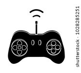 game controller icon | Shutterstock .eps vector #1028285251