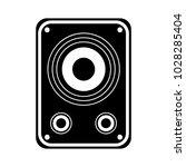audio speakers icon | Shutterstock .eps vector #1028285404
