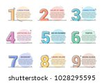 set of line numbers with place...