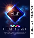 abstract geomrtic banner with... | Shutterstock .eps vector #1028299081