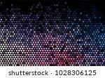 dark blue  red vector lovely... | Shutterstock .eps vector #1028306125