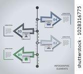 modern infographic template....   Shutterstock .eps vector #1028316775