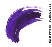 watercolor ultra violet dry...   Shutterstock . vector #1028316811