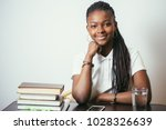 african american young woman...   Shutterstock . vector #1028326639