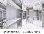 interior dressing room.   Shutterstock . vector #1028327041