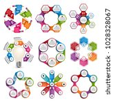 collection infographics. design ... | Shutterstock .eps vector #1028328067