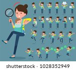 flat type mother and baby | Shutterstock .eps vector #1028352949