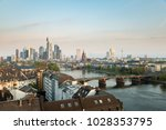 frankfurt am main. image of... | Shutterstock . vector #1028353795