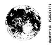 moon isolated on white...   Shutterstock .eps vector #1028356591