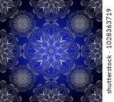 illustration of seamless... | Shutterstock . vector #1028363719