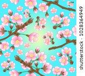 illustration of seamless ... | Shutterstock . vector #1028364949