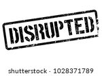 disrupted stamp. typographic... | Shutterstock . vector #1028371789