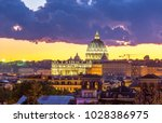 detail of the palace of the... | Shutterstock . vector #1028386975