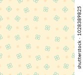 seamless pattern with  four... | Shutterstock .eps vector #1028389825