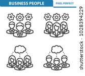 business people icons.... | Shutterstock .eps vector #1028394229