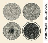 grunge halftone drawing... | Shutterstock .eps vector #1028399029