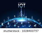 internet of things  iot  ... | Shutterstock .eps vector #1028403757