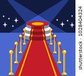 red carpet vector   Shutterstock .eps vector #1028404324