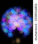 abstract blurry bokeh... | Shutterstock . vector #1028416801