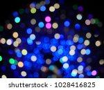 abstract blurry bokeh... | Shutterstock . vector #1028416825