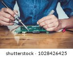 close up of the hand men hold... | Shutterstock . vector #1028426425