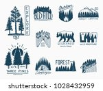 camping badges  mountains...   Shutterstock .eps vector #1028432959
