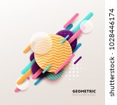 abstract geometric background....   Shutterstock .eps vector #1028446174