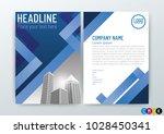 business brochure  cover design ... | Shutterstock .eps vector #1028450341
