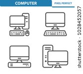 computer icons. professional ... | Shutterstock .eps vector #1028452057