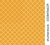 colorful seamless wafer waffle... | Shutterstock .eps vector #1028456629