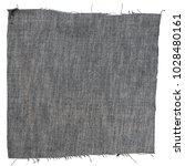 piece of blue jeans fabric... | Shutterstock . vector #1028480161