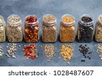 Assortments Of Spices  White...