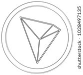 tron   cryptocurrency coin.... | Shutterstock .eps vector #1028497135