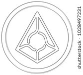 augur   cryptocurrency coin.... | Shutterstock .eps vector #1028497231