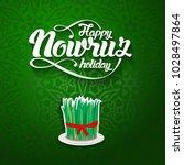 nowruz greeting. novruz....   Shutterstock .eps vector #1028497864