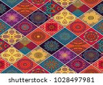 wall tiles design and wallpaper | Shutterstock . vector #1028497981