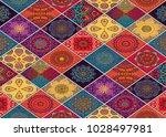 wall tiles design and wallpaper | Shutterstock . vector #1028497981