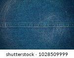 denim jeans texture. blue jeans ... | Shutterstock . vector #1028509999