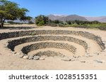 cantalloc aqueduct  nazca  peru   Shutterstock . vector #1028515351