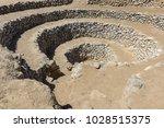 cantalloc aqueduct  nazca  peru   Shutterstock . vector #1028515375