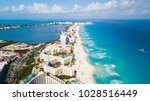 an aerial image of a beach in...   Shutterstock . vector #1028516449