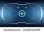 sci fi concept of future vector ... | Shutterstock .eps vector #1028520409