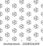 seamless vector pattern in... | Shutterstock .eps vector #1028526205