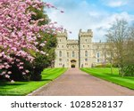 long walk to windsor castle in... | Shutterstock . vector #1028528137