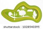 art green park | Shutterstock .eps vector #1028540395