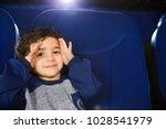 close up of a little cute... | Shutterstock . vector #1028541979