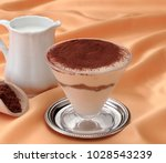 cup with mascarpone and... | Shutterstock . vector #1028543239